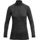 Devold Running - T-shirt manches longues Femme - gris/noir